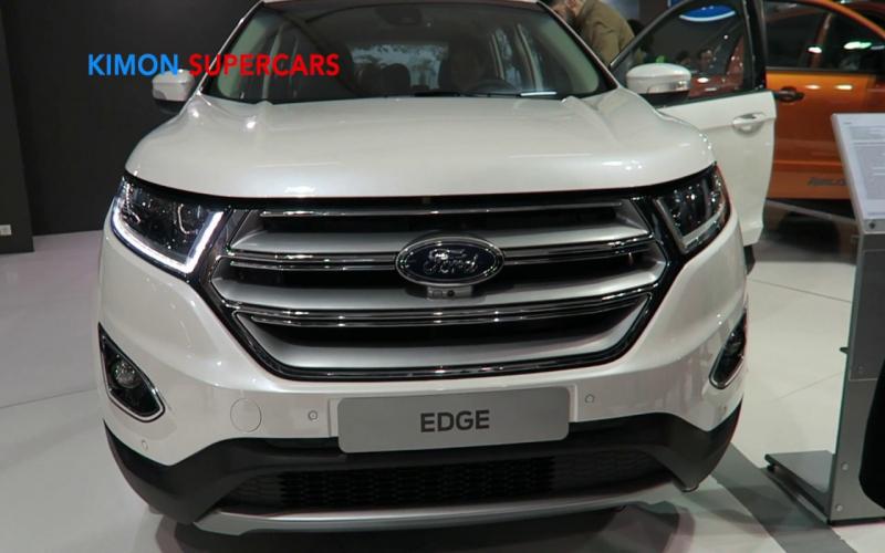 New 2020 Ford Edge - Exterior & Interior