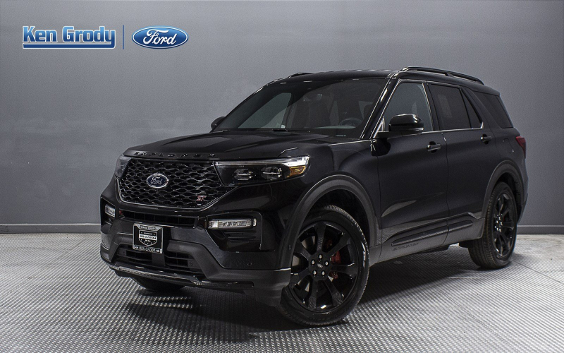 New 2020 Ford Explorer St With Navigation & 4Wd