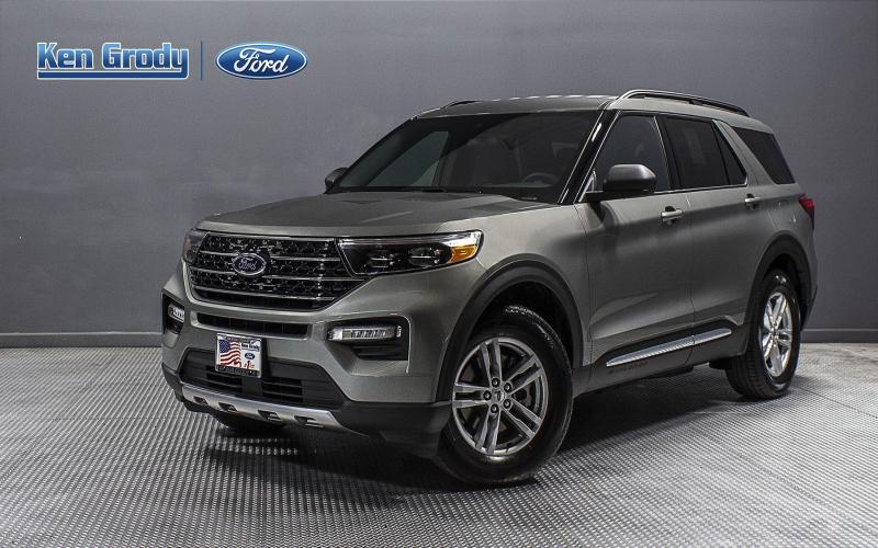 New 2020 Ford Explorer Xlt Rwd Sport Utility