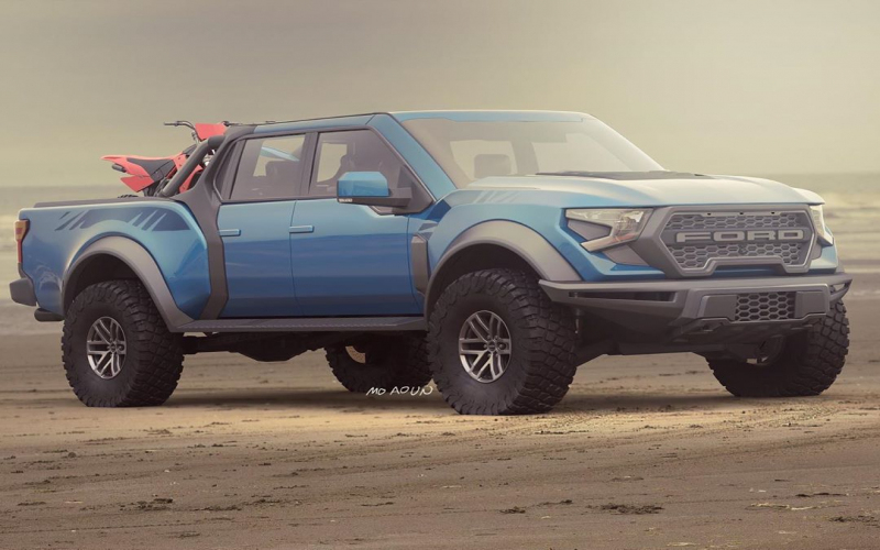 New 2021 Ford F-150 Raptor Rendering Got Us Dreaming