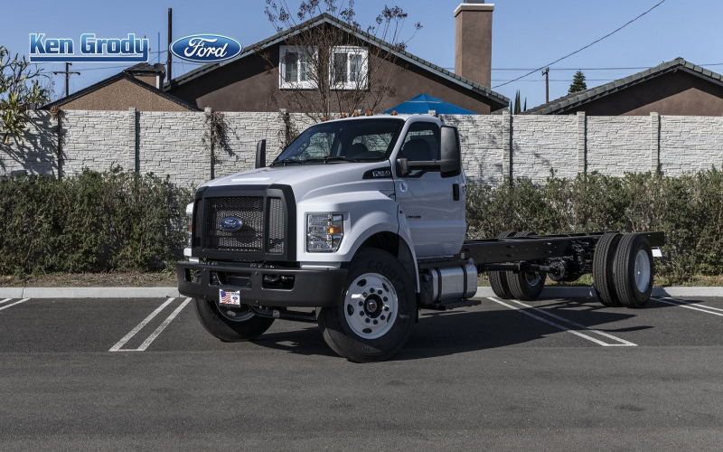 New 2021 Ford F650 Hgt Regular Cab Xock