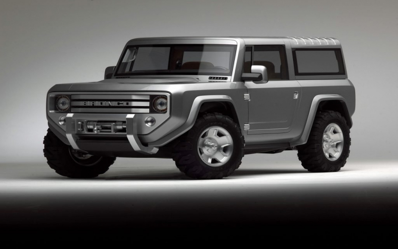 Nieuwe Ford Bronco Krijgt Twin Turbo V6 En Verwijderbare
