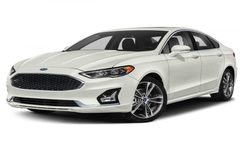 Pre-Owned 2020 Ford Fusion Titanium Awd