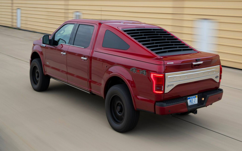 This Mustang-Inspired Ford F-150 Fastback Is Real, And Yes