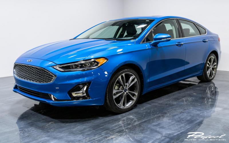 Used 2020 Ford Fusion Titanium For Sale ($20,893) | Perfect