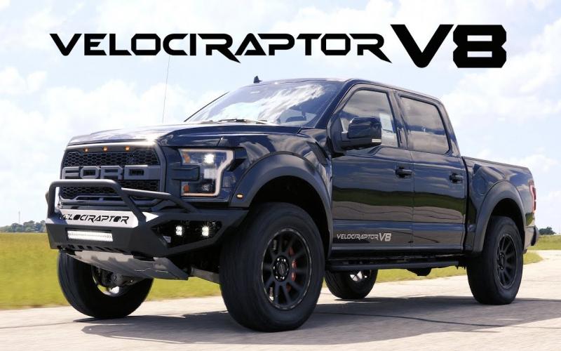 Velociraptor V8 Ford Raptor Validation Testing