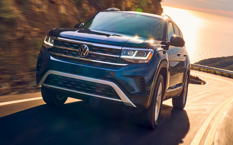 Vw's Redesigned 2021 Atlas Offers More Visual Flair And Tech