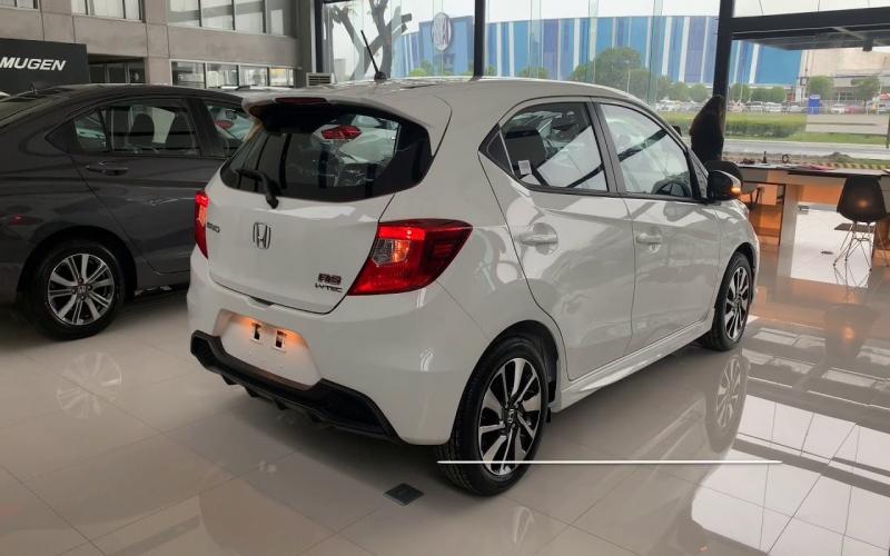 2019 Honda Brio 1.2 Rs Cvt ( Exterior) Taffeta White - Youtube