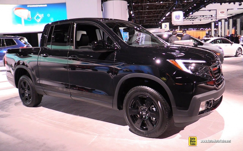 2019 Honda Ridgeline Black Edition - Exterior And Interior Walkaround -  Detroit Auto Show 2019