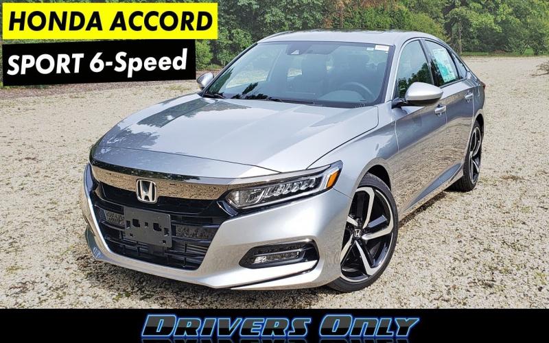 2020 Honda Accord Sport 2.0T 6-Speed Manual - Best Sport Sedan!