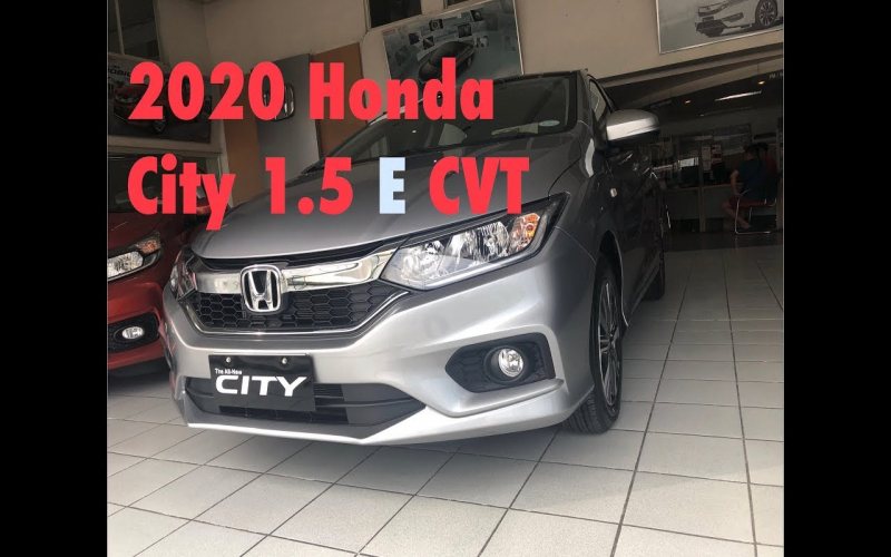 2020 Honda City 1.5 E Cvt (Philippines)