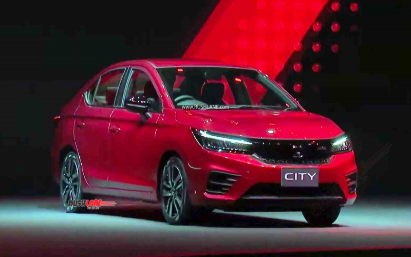 2020 Honda City Rs Turbo 1 Liter Launched - Price, Variants