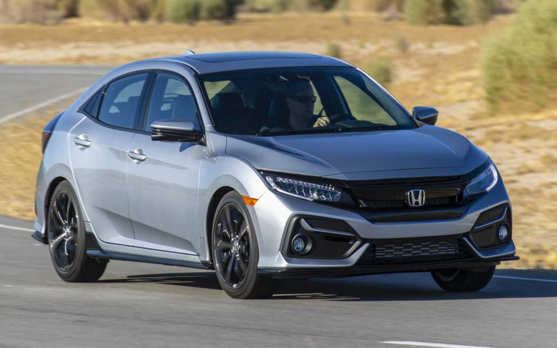2020 Honda Civic Hatchback Gets Mild Update, Small Price Bump