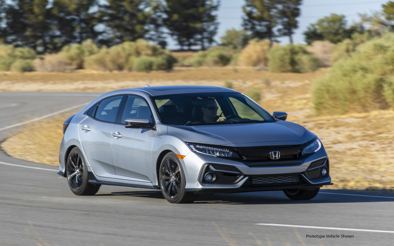 2020 Honda Civic Hatchback Updated, Offers The Manual On