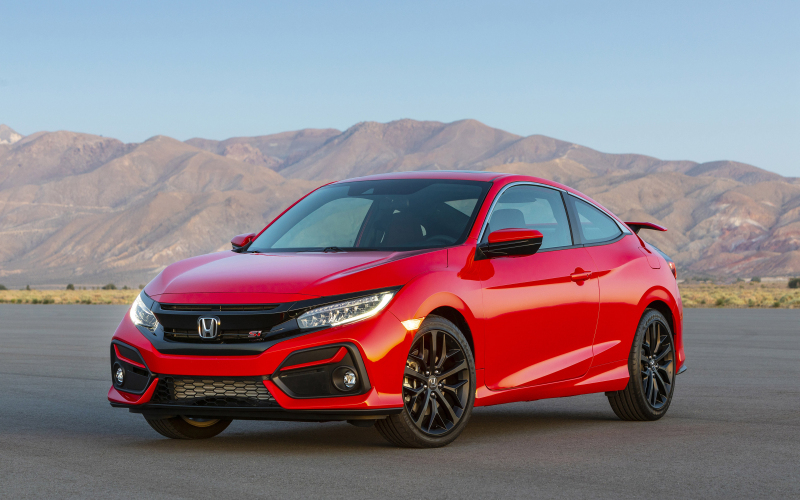 2020 Honda Civic Si 4K Ultra Hd Wallpaper | Achtergrond