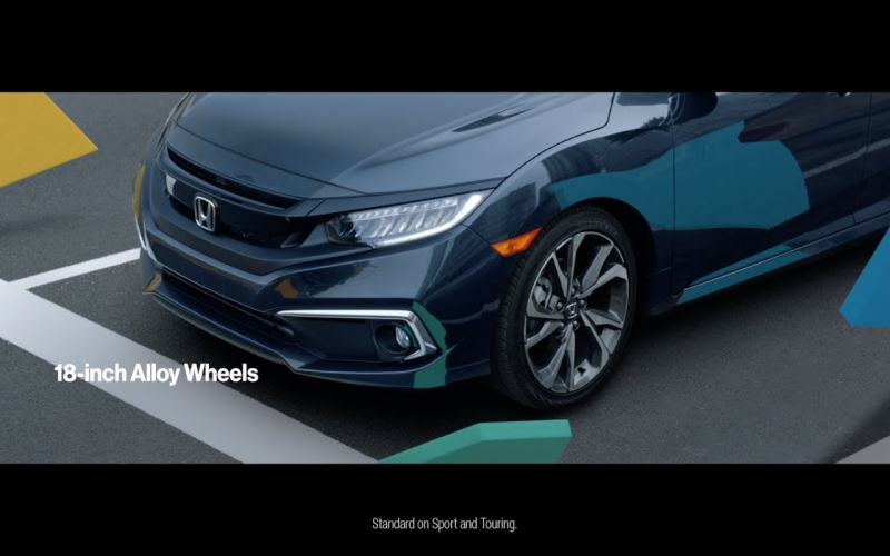 2020 Honda Civic Touring: Feature Technology & Styling