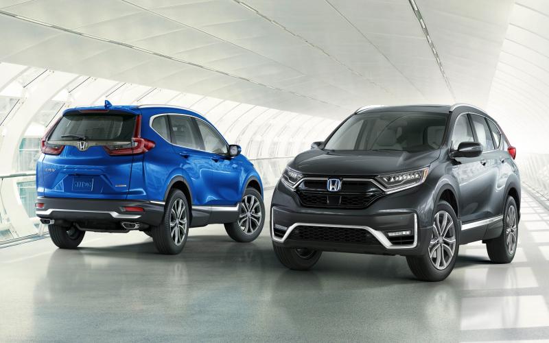 2020 Honda Cr-V Facelift Revealed In The United States