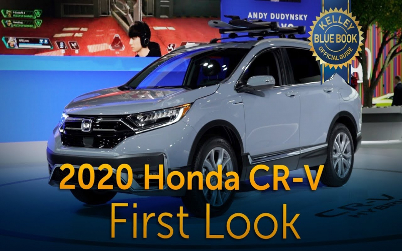 2020 Honda Cr-V – First Look | Auto24X7.nl