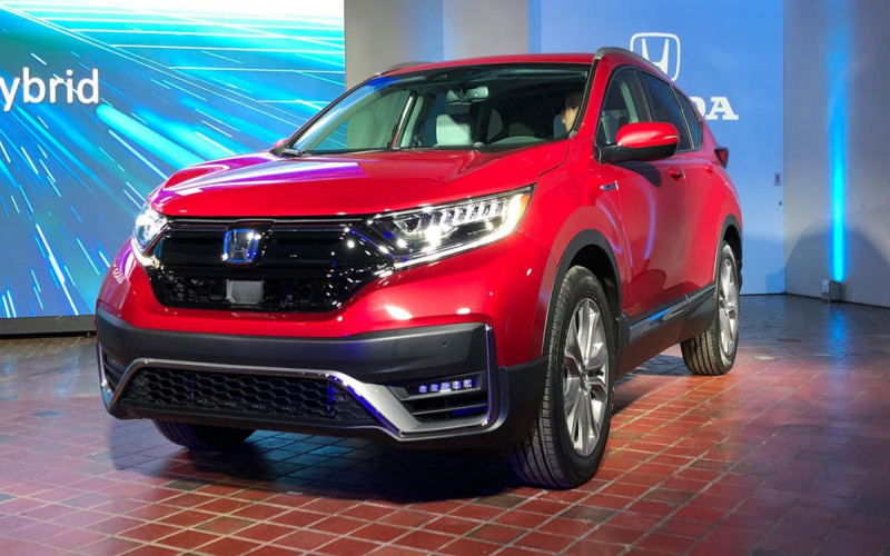 2020 Honda Cr-V Hybrid Debuts With Refreshed Styling And
