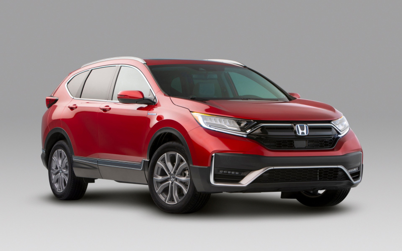 2020 Honda Cr-V Hybrid Gets 40 Mpg City