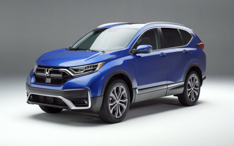 2020 Honda Cr-V Touring: Exterior And Interior Walkaround