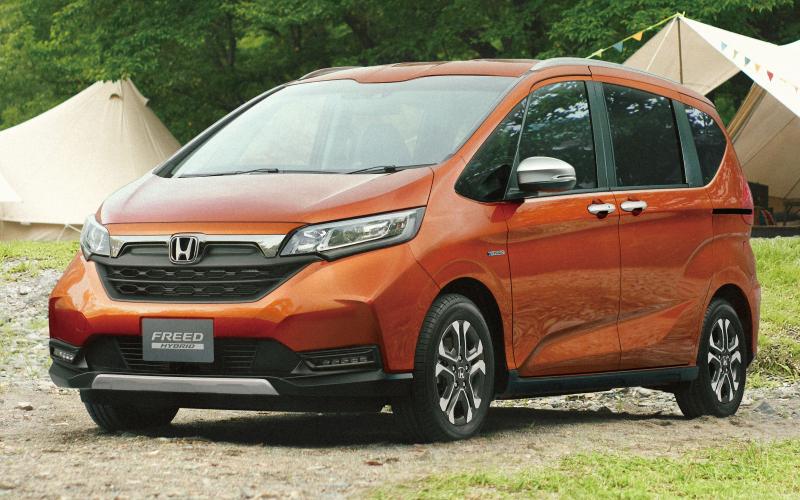 2020 Honda Freed Facelift Gets Suv-Style Crosstar Trim