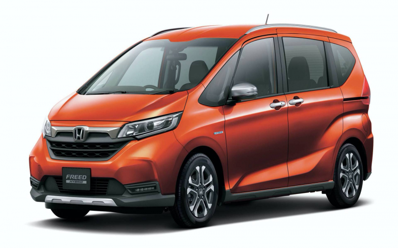 2020 Honda Freed Gets Facelifted In Japan, Gains Suv-Style