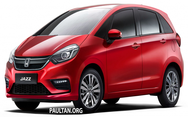 2020 Honda Jazz Rendered - A Softer Looking 4Th-Gen