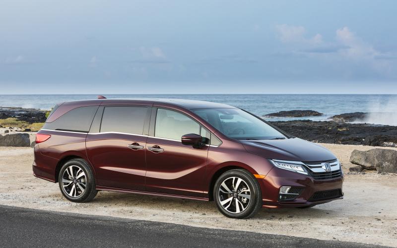 2020 Honda Odyssey Celebrates 25Th Birthday With
