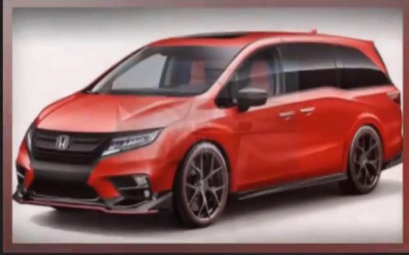 2020 Honda Odyssey Type R Redesign | 2020 Honda Odyssey Type