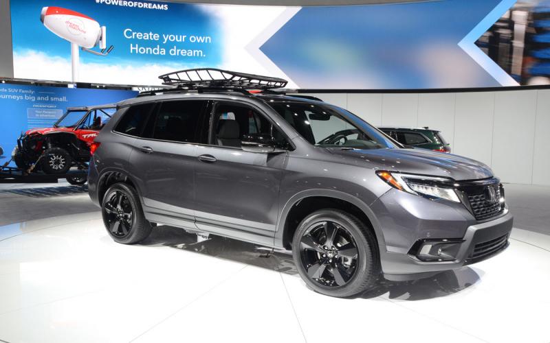 2020 Honda Passport Black Edition, Automatic Performance
