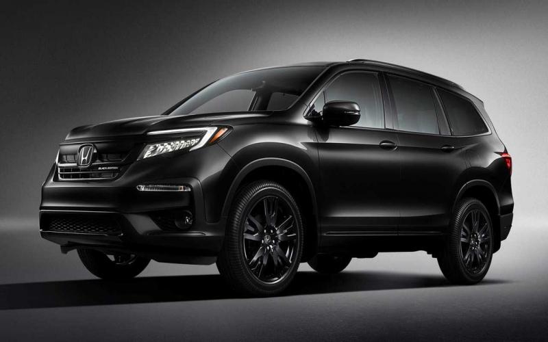 2020 Honda Pilot Black Edition Is New Range-Topping Trim