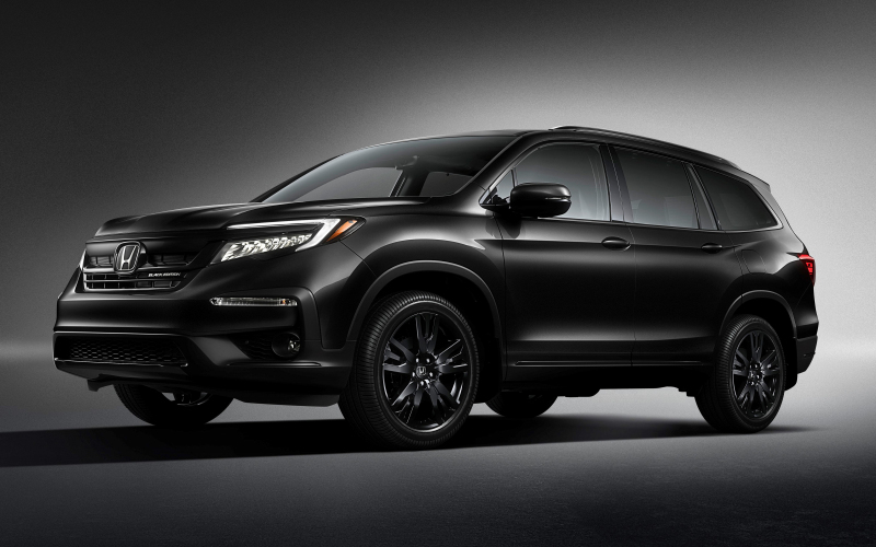 2020 Honda Pilot Gets New Top-Of-The-Line Black Edition