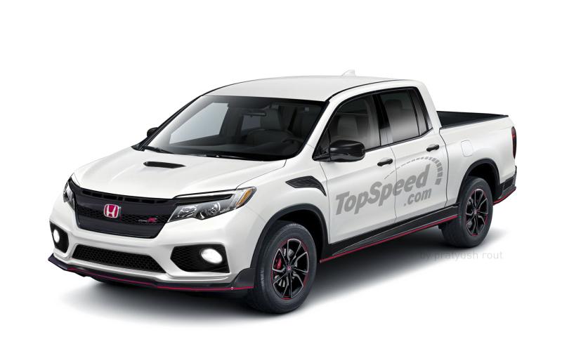 2020 Honda Ridgeline Type R | Top Speed