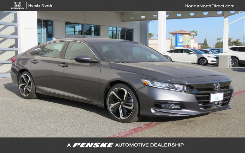 2020 New Honda Accord Sedan Sport 1.5T Cvt At Honda North Serving Fresno,  Clovis, Ca, Iid 19885843