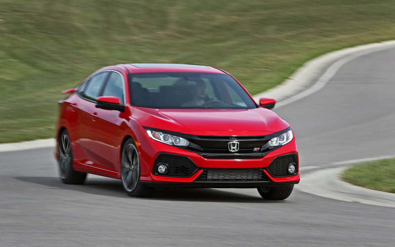 2021 Honda Civic Si Blue Color Option, Safety Feature