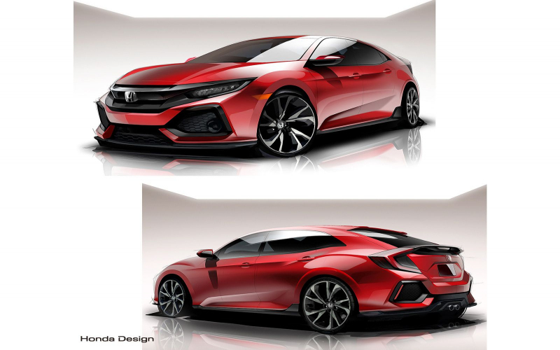 2021 Honda Civic Si Hatchback Configuration Rumor, Redesign