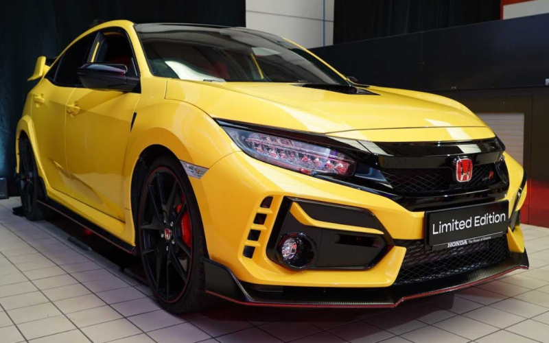 2021 Honda Civic Type-R Limited Edition Introduction