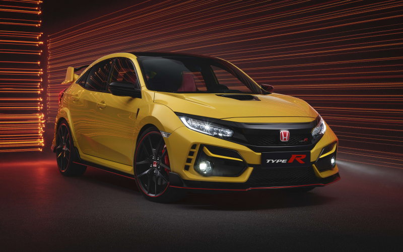 2021 Honda Civic Type R Limited Edition Revealed For