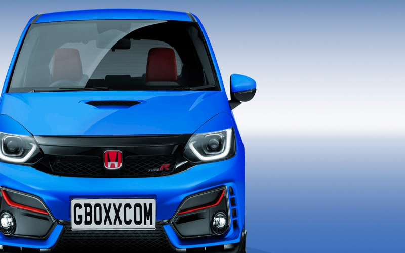 2021 Honda Fit Type R Rendering Has Silly Wing, Will Never