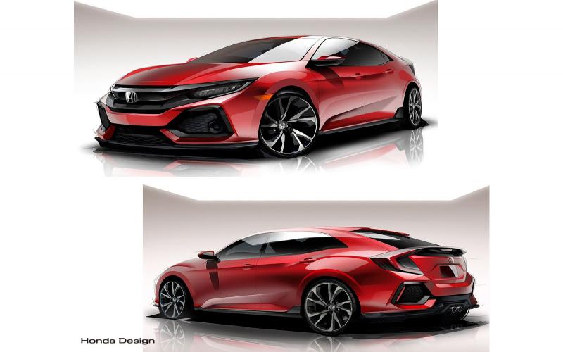 2021 Honda Hatchback - Car Wallpaper