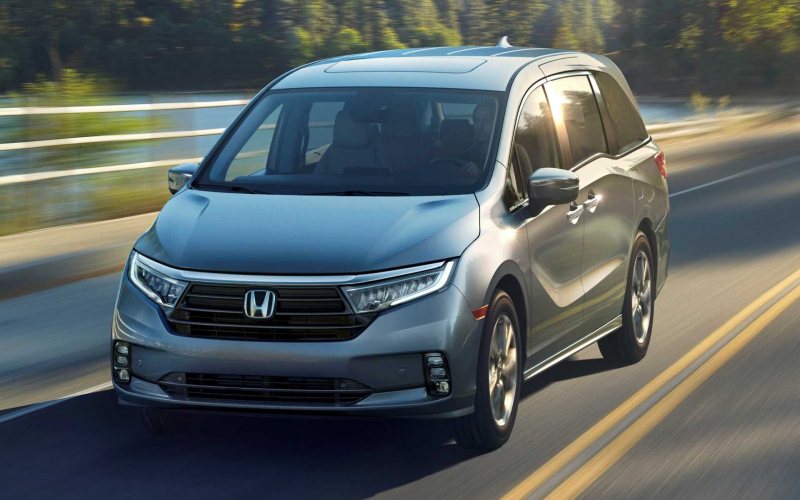 2021 Honda Odyssey Debuts With Fresh Look, Enhanced Safety Tech