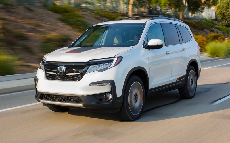 2021 Honda Pilot Touring, Automatic Transmission, Redesign