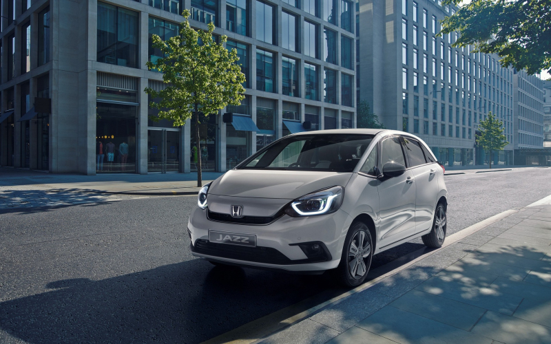 All-New Honda Fit Makes Its Global Debut With Hybrid Tech