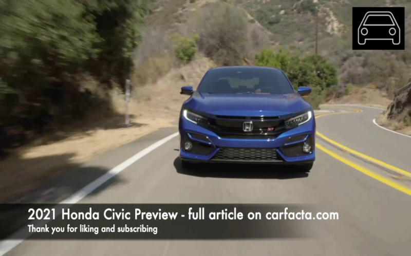 Carfacta Preview: What To Expect From The 2021 Honda Civic