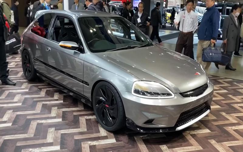 De Honda Civic Ek In Het Nieuw Voor 2020 - Topgear