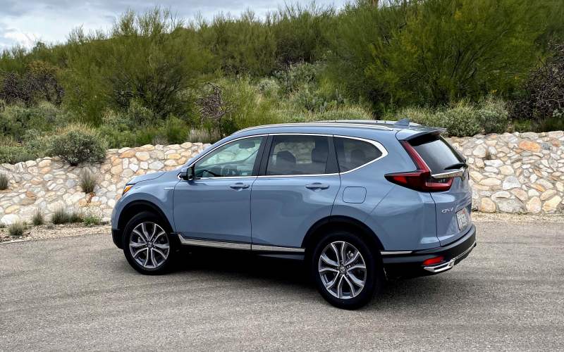 First Drive Review: 2020 Honda Cr-V Hybrid Teases An Ev