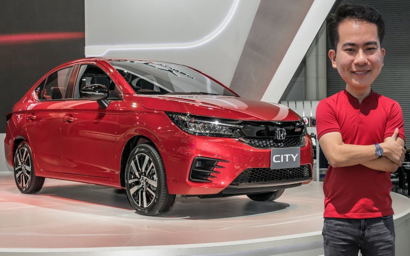 First Look: 2020 Honda City Rs 1.0L Vtec Turbo In Thailand