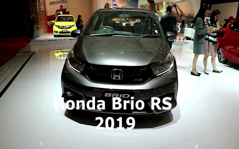 Honda Brio Rs 2019 ,grey ( Modern Steel Metallic) Colour ,exterior And  Interior