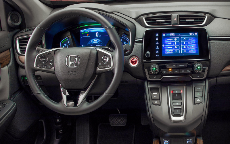 Honda Crv Hybrid 2021 Interior
